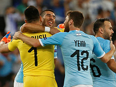 ההזדמנות האחרונה ליורו: ישראל תשחק מול סקוטלנד