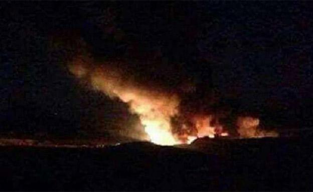 פיצוץ בלבנון (ארכיון) (צילום: חדשות)