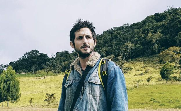 תומר קפון כאביב דנינו בקולומביה (צילום: ניתאי נצר, בשבילה גיבורים עפים)