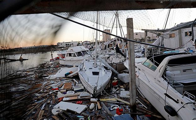 נזקי הוריקן מייקל (צילום: AP, חדשות)