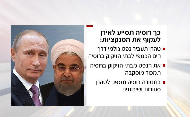עיקרי ההסכם בין פוטין לרוחאני (צילום: חדשות)