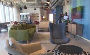 המשרדים החדשים של פייסבוק בישראל (צילום: התכנית הכלכלית, חדשות)