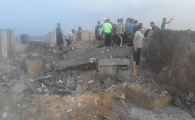 הפלסטינים מדווחים על שלושה פצועים (צילום: חדשות)