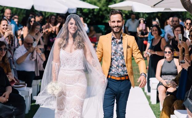 שרה וחן MKR חתונה (צילום: צחי שמש)