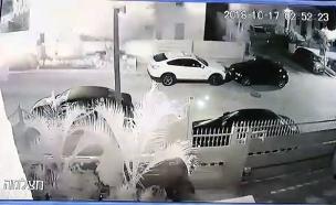 תיעוד הפיצוץ בבית בבאר שבע (צילום: חדשות)