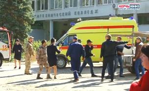 זירת הרצח בקרים, היום (צילום: רויטרס, חדשות)
