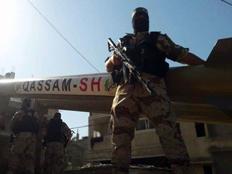 חמאס במסר מאיים (צילום: החדשות)