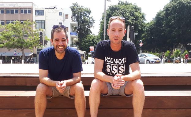 דוד דהן ועידו דרור (צילום: דניאל שירין, מעריב לנוער)
