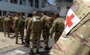 חיילים בריטים בסודן (צילום: משרד ההגנה הבריטי)