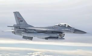F 16 של חיל האוויר הנורבגי (צילום: חיל האוויר הנורבגי)