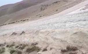 חשש לשטפונות באזור ים המלח. ארכיון (צילום: דודו זכאי, רשות הטבע והגנים, חדשות)