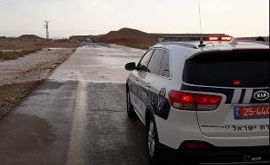 שיטפונות בנחלי הדרום, ארכיון (צילום: דוברות המשטרה, חדשות)