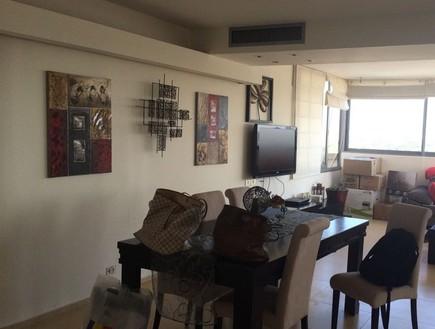 דירה בבבלי, עיצוב גבי גור, לפני השיפוץ