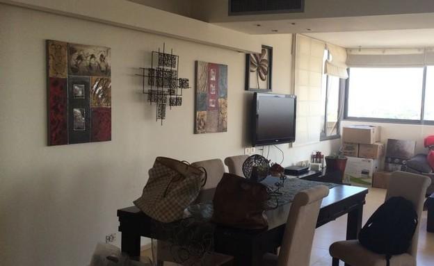 דירה בבבלי, עיצוב גבי גור, לפני השיפוץ  (צילום: גבי גור)