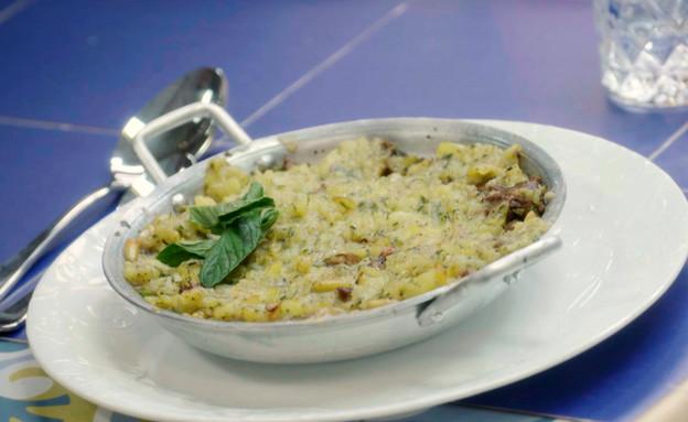 טעימת המנה העיקרית של גל ואמיר X (צילום: MKR המטבח המנצח, קשת 12)