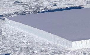 """הקרחון המוזר שנאס""""א מצאה באנטארטיקה (צילום: NASA, חדשות)"""