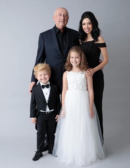 משפחת ראידמן (צילום: צולם מתוך עמוד האינסטגרם של ניקול ראדימן)