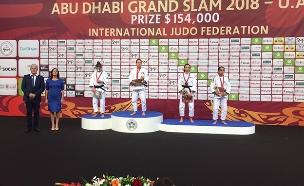 גילי כהן - זכתה במדליית ארד בתחרות (צילום: איגוד הג'ודו הישראלי, חדשות)