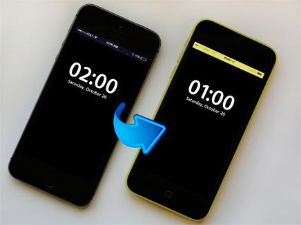שעת שינה נוספת, פחות שעות אור