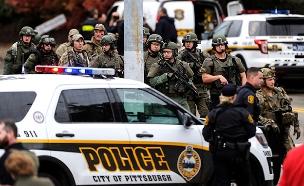 פיגוע הירי בפיטסבורג (צילום: AP, חדשות)
