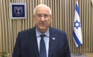 הנשיא ריבלין ליהודים בפיטסבורג (צילום: ללא, חדשות)