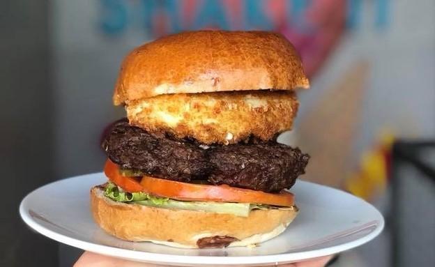 טרומן אנד קו המבורגר בחירות (צילום: שלומי ארביב , יחסי ציבור)