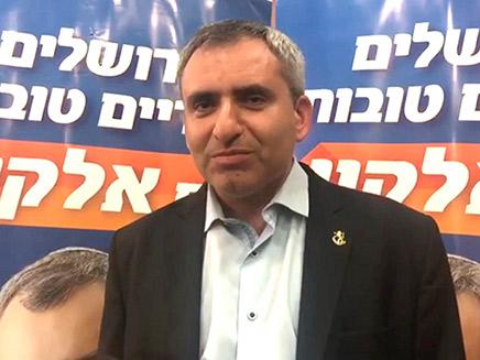 זאב אלקין בנאום הפסד