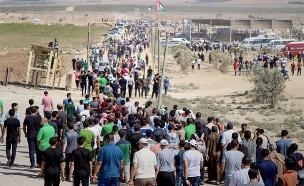 צעדת השביה בעזה, ארכיון (צילום: חדשות)