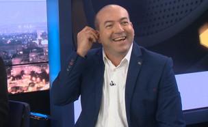 """האיש השנוי ביותר במחלוקת בישראל בזוגיות? (צילום: מתוך """"ערב טוב עם גיא פינס"""", קשת 12)"""