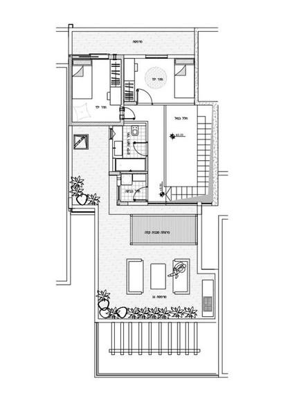 דירה ברמת השרון, ג, עיצוב מיכל מלצר פיקל, קומה עליונה