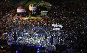 כיכר רבין, הערב (צילום: קובי ריכטר/TPS, חדשות)