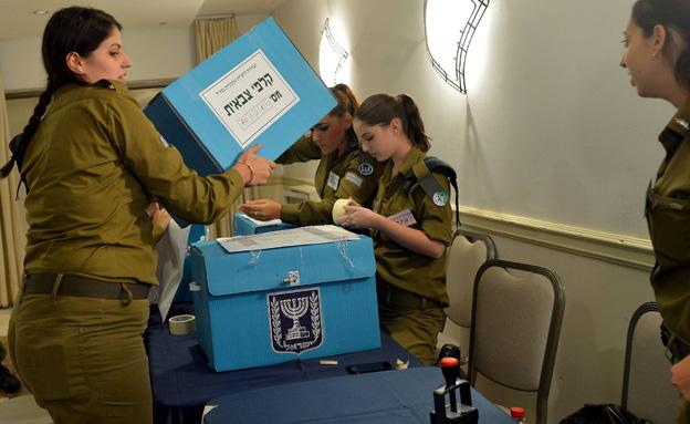 קלפי צבאית (ארכיון) (צילום: Yossi Zeliger/FLASH90, חדשות)