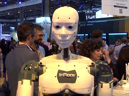 תערוכת רובוטים בפריז (ארכיון)