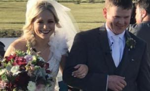 אסון בחתונה (צילום: פייסבוק\Eric Smith)