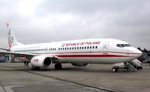 מטוס ראש ממשלת פולין בישראל (צילום: חדשות)
