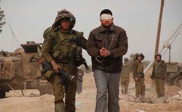 """מעצר חשוד בטרור, ארכיון (צילום: דובר צה""""ל, חדשות)"""