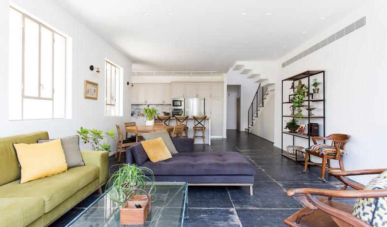 דירה ברמת השרון, עיצוב מיכל מלצר פיקל (צילום: שירן כרמל)