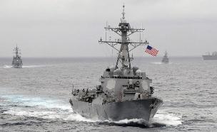 ספינה אמריקאית (צילום: הצי האמריקאי)