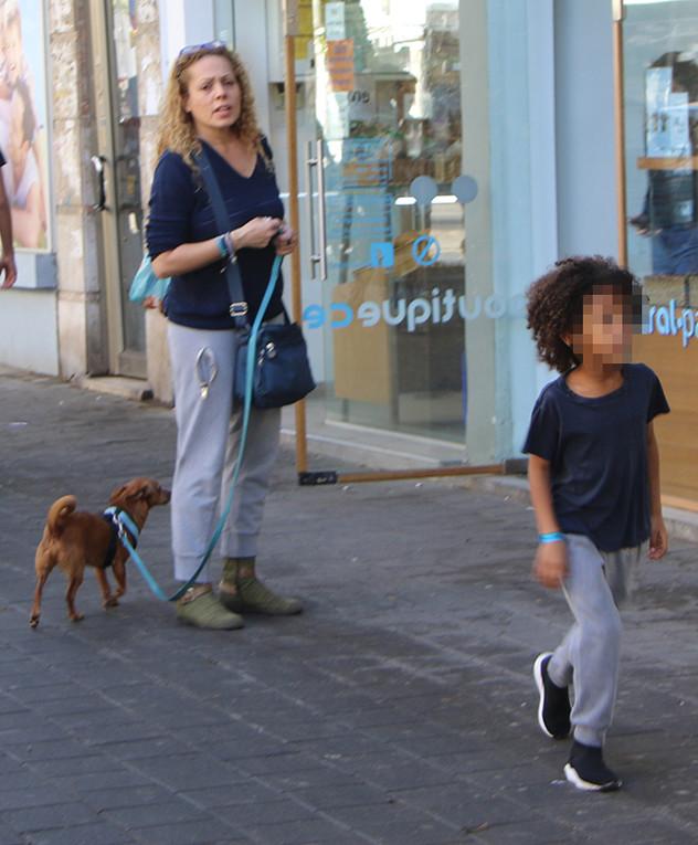 אורלי ולנאי ובנה