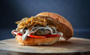 המבורגר טלה, בורגר סאלון (צילום: ישראל אלפסה, יחסי ציבור)