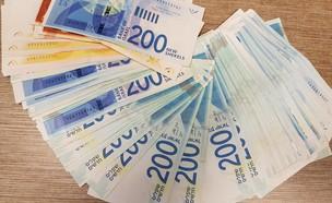 שטרות של 200 שקלים (צילום: מערכת mako כסף)