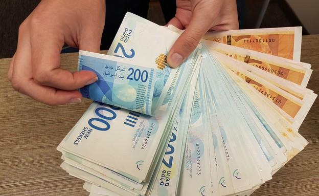 חבילת שטרות כסף (צילום: מערכת mako כסף)