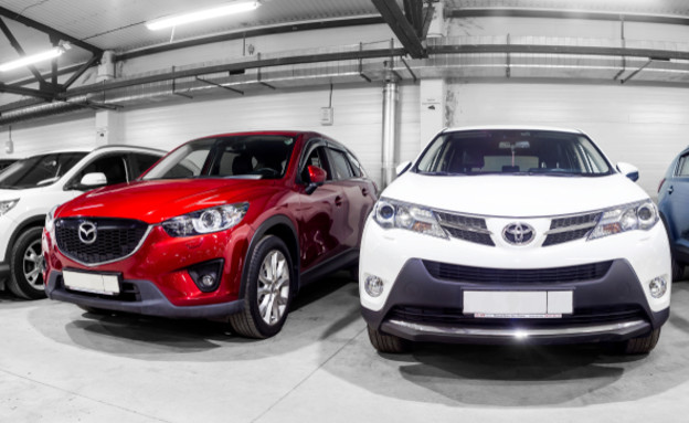 מכוניות למכירה ברוסיה (צילום: kateafter | Shutterstock.com )
