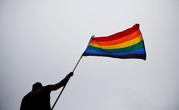 דגל הגאווה. מעוניינים לקדם גיוון (צילום: רויטרס, חדשות)