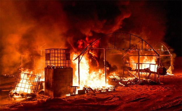 """""""שוב ערב שישי נהרס לנו"""" (צילום: ביטחון נתיב העשרה, חדשות)"""