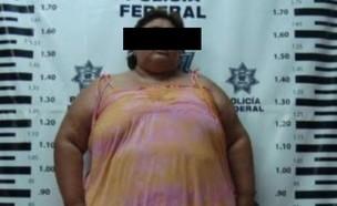 האישה המקסיקנית (צילום: צילום מסך מתוך: cronica.com.ar)