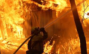 שריפה בקליפורניה (צילום: Getty Images Justin Sullivan )