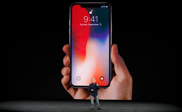 אפל מודה: תקלה באייפון X (צילום: רויטרס, חדשות)