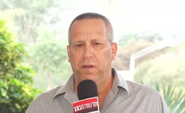 """ראש המועצה נגד ביטול הלימודים בעוטף עזה (צילום: מתוך """"חדשות הבוקר"""" , קשת 12)"""