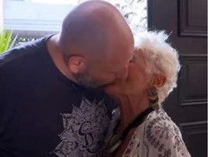 סיפור האהבה המדהים של בת ה-82 ובן ה-39
